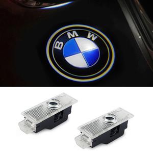 باب السيارة LED مجاملة ليزر العارض شعار شبح ظل ضوء لسيارات BMW X3 X5 E60 E90 F10 F30 M5 Z4 F01