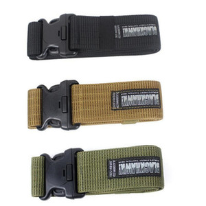 Mens Belts Brand Tactical New Military Blackhawk CQB Belt Outside Strengthening Canvas Waistband CQB Belt Fashion Accessories