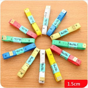 hotsale 1.5m length soft plastic tape measures sewing tailor cm feet ruler measuring gauging tools free shipping F2017434