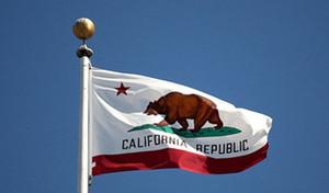 Bandeira do estado da Califórnia Nation 3 pés x 5 pés de poliéster bandeira Flying150 * flag 90 centímetros personalizado Em todo o mundo Worldwide exterior