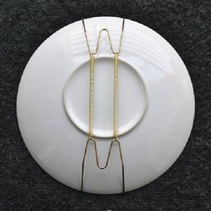 All'ingrosso- Piastra a molla a muro Appendiabiti a filo per varie dimensioni Decorazione d'arte in acciaio inox 1 pc Home Dector 8 pollici