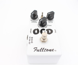 Free Shipping Obsessive Compulsive Drive Overdrive Distortion (OCD) Guitar Effect Pedal Two mode selection (HI LOW) And True Bypass