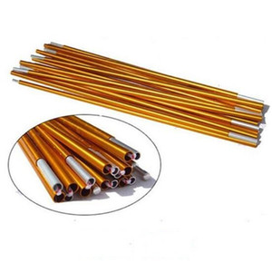 40pcs lot 11 Sections 405cm Camping Hiking Travel High Strength Aluminum Alloy Replacement Spare Tent Poles Rod Bar