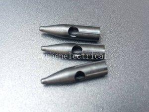100Pcs 2RL3RL PRONG RUND NEEDLE CAPS Puntas de tatuaje para maquillaje permanente Merlin Machine Components Accessories