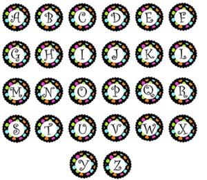 4 estilos misturados vidro Initial A-Z alfabeto 26 letras Snaps 18MM vidro botão snap Encantos Fit For Botão DIY snap Colar Pulseira