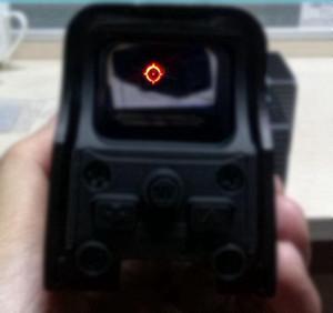 riflescope Tactical 552 Holographic vista Airsoft Red Dot Âmbito Reflex vista para picatinny rail 20 milímetros de montagem