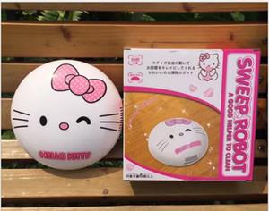 Elektrikli Süpürgeler USB Ev Temizleme Karikatür Süpürgesi Robot Süpürge OTOMATIK TEMIZLEYICI ROBOT Cep Merhaba kitty Doraemon