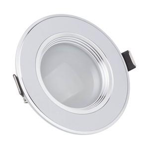 Dim LED Tavan Işık 3 W 5 W 7 W 9 W 12 W Sıcak Beyaz Soğuk Beyaz Gömme LED Lamba Spot Işık AC220V AC110V