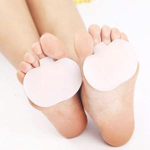 1 пара на высоком каблуке Обувь стопы подушки колодки Silicne стельки ортопедические стельки Half-Ярд Pad уход за ногами инструмент плюсневой поддержки ног