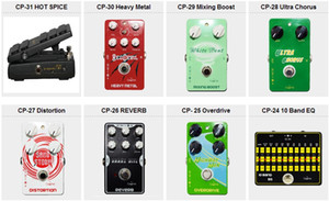 Caline серии CP-10 CP-11 CP-12 CP-13. искажение перегрузки гитарные эффекты аналоговая задержка реверберации сжатия recording.High производительности