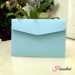 13.3X19.3cm 100pcs Elegant Wedding Invitation Cards Kraft Paper Greeting Cards with Envelopes Event Party Supplies