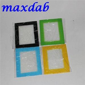 Venta al por mayor Grandes tamaños pequeños antiadherente Silicon Pad Silicone Baking Mat Antiadherente Color verde Silicone Mat Silicone Dab Mat Dab Pad