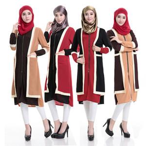 Muslim abaya dress blouse Islamic long Shirt dubai shirt islamic clothing Muslim kaftan abaya Dress turkish fashion