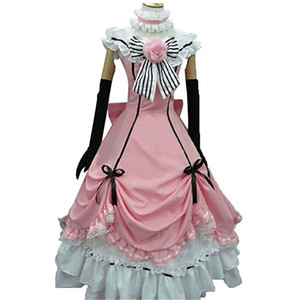 Kukucos Anime Black Butler Ciel Phantomhive Cosplay Costume Lolita Dress Gift pour Halloween et Party