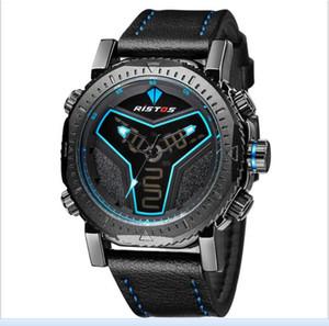 2017 Nuovi orologi in pelle Cina Design per uomo Longbo Orologi da uomo Top Brand orologio da polso al quarzo regalo di Natale per gli uomini