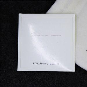 925 Sterling Silver Pano De Polimento Estilo Europeu para Pandora Charme Bead Dangle Pingente Jóias Limpadores Polonês