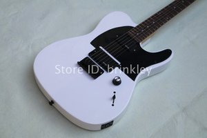 Бесплатная доставка оптовая продажа фабрики на заказ блеск белый tl гитара 6 струнная гитара, гитара с пикап EMG