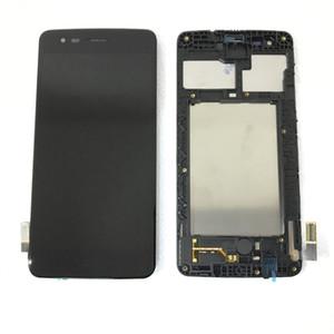 ЖК дигитайзер экран для LG Aristo K8 2017 года MS210 M200N с заменой рамы крепёж Silver Black