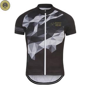 맞춤형 NEW Hot 2017 Retro JIASHUO웨어 장비 체인 mtb road RACING 팀 자전거 프로 사이클링 저지 / 셔츠 탑스웨어 호흡 용 에어