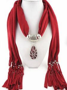 حجاب ساخن مجوهرات القطن الحجاب سبيكة قلادة وشاح قلادة الأوشحة ردائه صوفية بالجملة