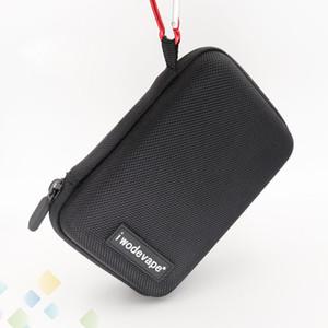 Iwodevape E sigara Buhar Cep E Çiğ Durumda Taşınabilir Küçük DIY Çanta Kılıfı Kutusu Mod Taşıma çantası Fit Atomizatörler Mods DHL Ücretsiz