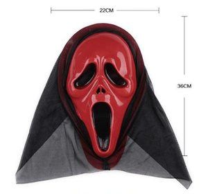Terrorist Masks Halloween Horror Ghost Screaming Skeleton Halloween grimace mask Cospaly Skull Mask Make up the party Wholesale