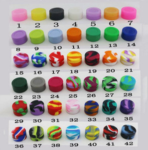 1000pcs 7 ML multicolore antiadhésives conteneur Silcone pots de récipient de silicone balles Meilleures vente de conteneurs anti-adhésif Silcone