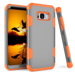 Case Covers on для Samsung galaxy S8 противоударный Protect Case гибридный жесткий резиновый влияние кожи броня телефон Cases для Samsung galaxy S8 cases