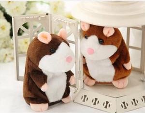 Eco-friendly Talking Hamster conversazione Sound Record Ripetere farciti della Animal Kids Toy Bambino che comunica criceto giocattoli di peluche