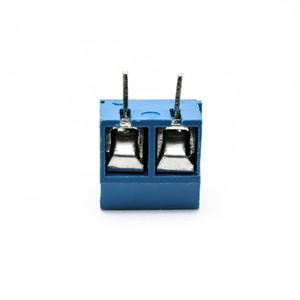 (20 pièces / lot) Suyep Connecteur de bornier à vis KF301-2P 5.0-301-2P Blue Iron