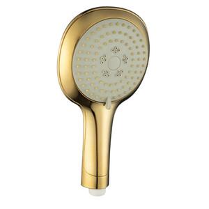 En gros Universal 3 Fonctions du mode Golden White Handheld Salle de bains Tête De Douche Robinet D'eau Remplacement Pluies Douches Ensembles SCHJ005