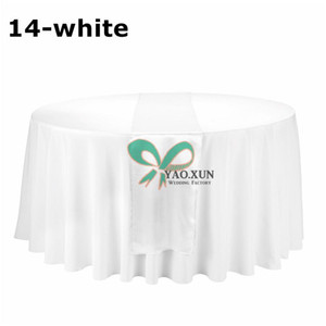 Good Looking 20pcs Satin Table Runner \ Cheap Price Wedding Table Cloth Runner Decoration