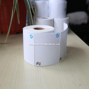 Etichette adesive per stampante Dymo Etichette adesive personalizzate per transfer etichette stampate usate di alta qualità su rotoli in materiale PET in carta