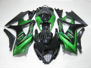 Kit carena stampo più venduto per Suzuki GSXR1000 07 08 carena verde nero set gsxr 1000 2007 2008 OY48