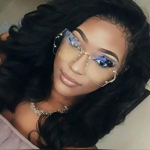 ALOZ MICC новый женщин без оправы Lregularity градиент солнцезащитные очки бренд дизайнер ретро очки Oculos De Sol UV400 A167