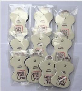 10 pezzi Cuscinetti per elettrodi sostitutivi per elettroterapia a lunga durata Omron Cuscinetti a trazione autoadesivi con sacchetto sigillato