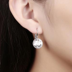 bella orecchini gioielli in oro gioielli all'ingrosso con elementi in cristallo Swarovski orecchini gioielli per donne brincos