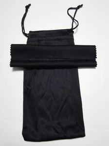 Sunglasse черная салфетка для чистки мягких очков сумка для очков женские и мужские солнцезащитные очки + ткань бесплатная доставка