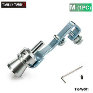 Tansky - M 사이즈 새로운 터보 사운드 배기 머플러 가짜 블로우 오프 밸브 BOV 시뮬레이터 휘슬러 TK-W001 (1PC)