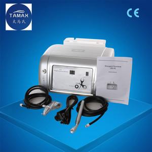 Tamax المحمولة المياه الأكسجين جت آلة التقشير 2 في 1 99٪ الأكسجين النقي آلة الوجه لعلاج حب الشباب الجلد تجديد dhl شحن مجاني ce