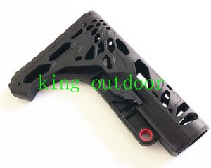 Estoque compacto tático de estoques de pouco peso novo da carretilha da coronha para carabinas AR15 / M4 / M16