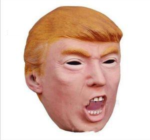 Trump USA Presidente Candidato Mr Trump Masks Máscara de Látex Máscara Billionaire Presidencial Donald Trump Máscaras de Látex