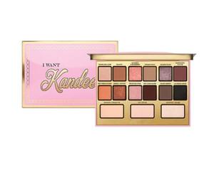 Nueva marca de maquillaje que quiero Kandee Candy-Scented Limited Edition Paleta de sombras de ojos 15 colores Paleta de sombras de ojos Envío gratis