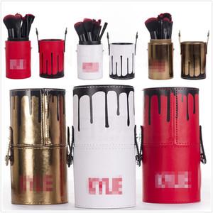 2017 패션 새로운 켈리 Kylie12 실린더 장식 메이크업 브러쉬 고품질 편안한 부드러운 메이크업 도구 세트