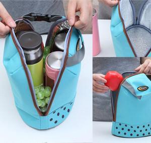 4pcs Salga más grueso bolsa de aislamiento bolsa de hielo bolsa de aislamiento de mano fresca bolsa de papel de aluminio bolsa de mano