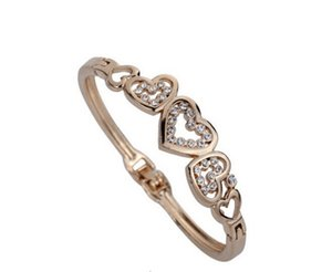 Einfache und elegante Temperament Armband S-Typ Diamant-Armband gute Qualität