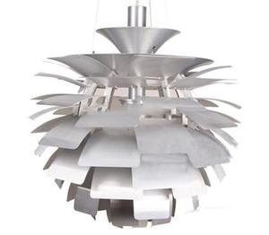 País das maravilhas mil folhas de alcachofra lâmpada pingente de luz branco / prata / vermelho lâmpada ph criativo home design de estilo para sala de estar