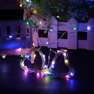 Factory direct battery box copper wire string, LED decorative lights Halloween Christmas NEW