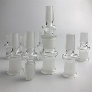 Neue Glas Adapter Fit Öl Rigs Glas Bong Adapter 14mm Stecker auf 18mm Weibliche Bong Adapter Glas Adapter Kostenloser Versand
