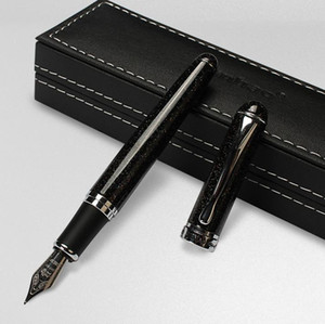 Luxo Jinhao X750 Fountain Pen Black Shimmering Sands Medium Nib Sign Pens Escrita Fontes Party Holdialy Presente